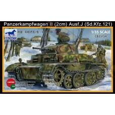 Легкий танк Panzerkampfwagen II (2 см)т (Sd.Kfz.121)