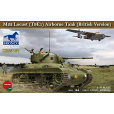 Американский авиадесантный танк M-22 Локаст (T 9E1) английская версия арт. 35161