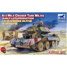 Английский танк A 13 Mk. II/ Mk.IVA арт. 35029
