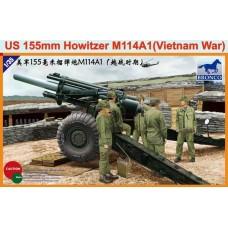 Американская гаубица М114А1 155мм (Вьетнам)