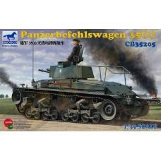 Легкий танк Panzerbefehlswagen 35(t) командирский арт. 35205